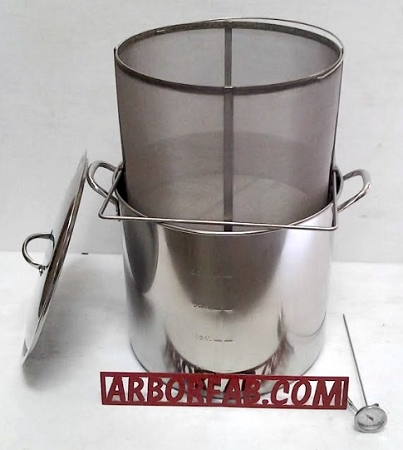 42 Qt Brew In A Basket Combo Kettle And Basket