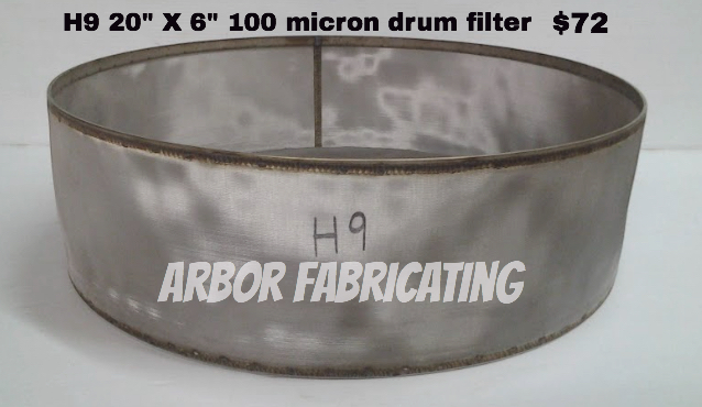 drum filter bargain bin
