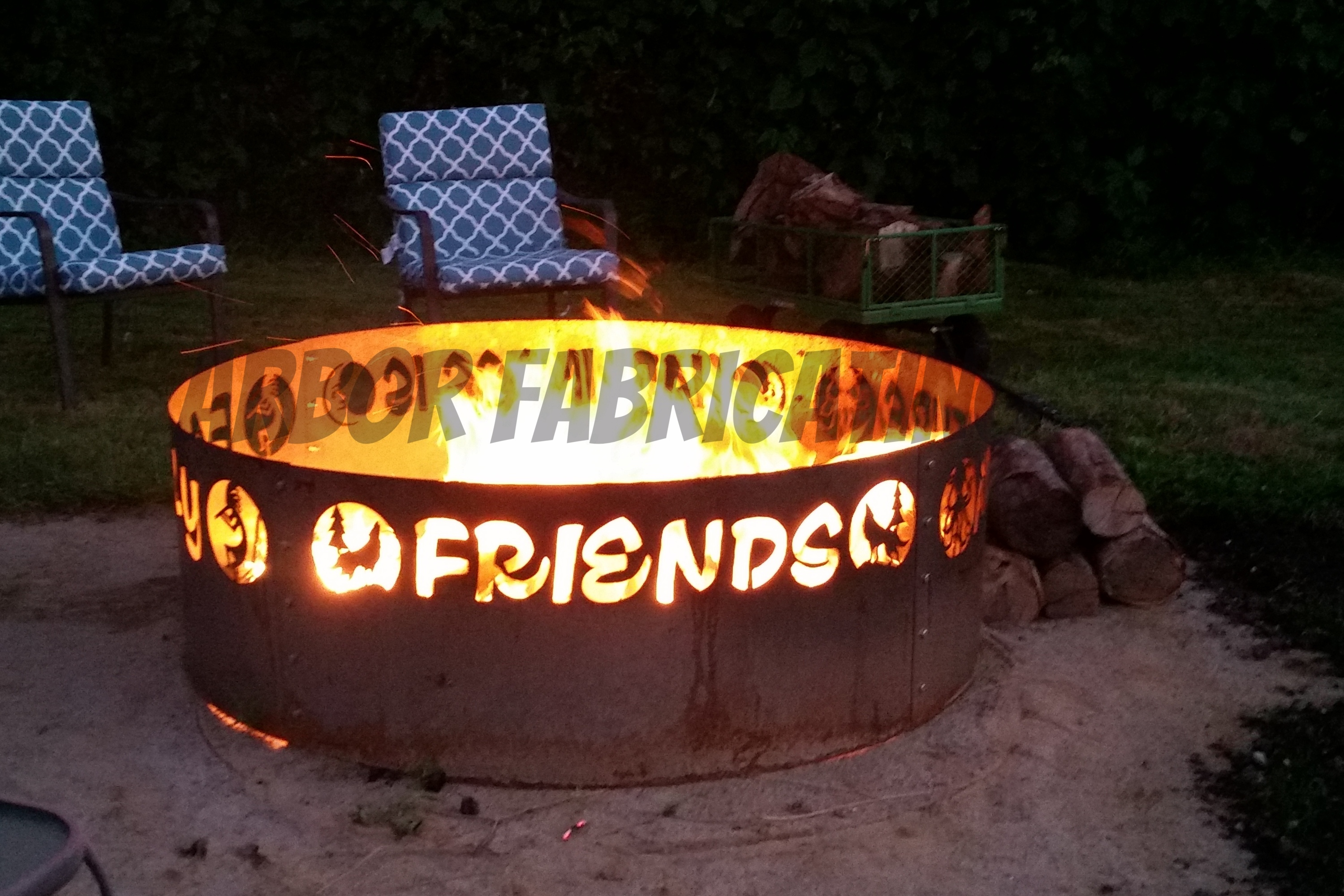 rings fire pits north shop sphere deer the moose gallery up pit