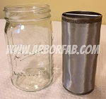 32 oz Cold Brew Coffee Glass Jar Filter