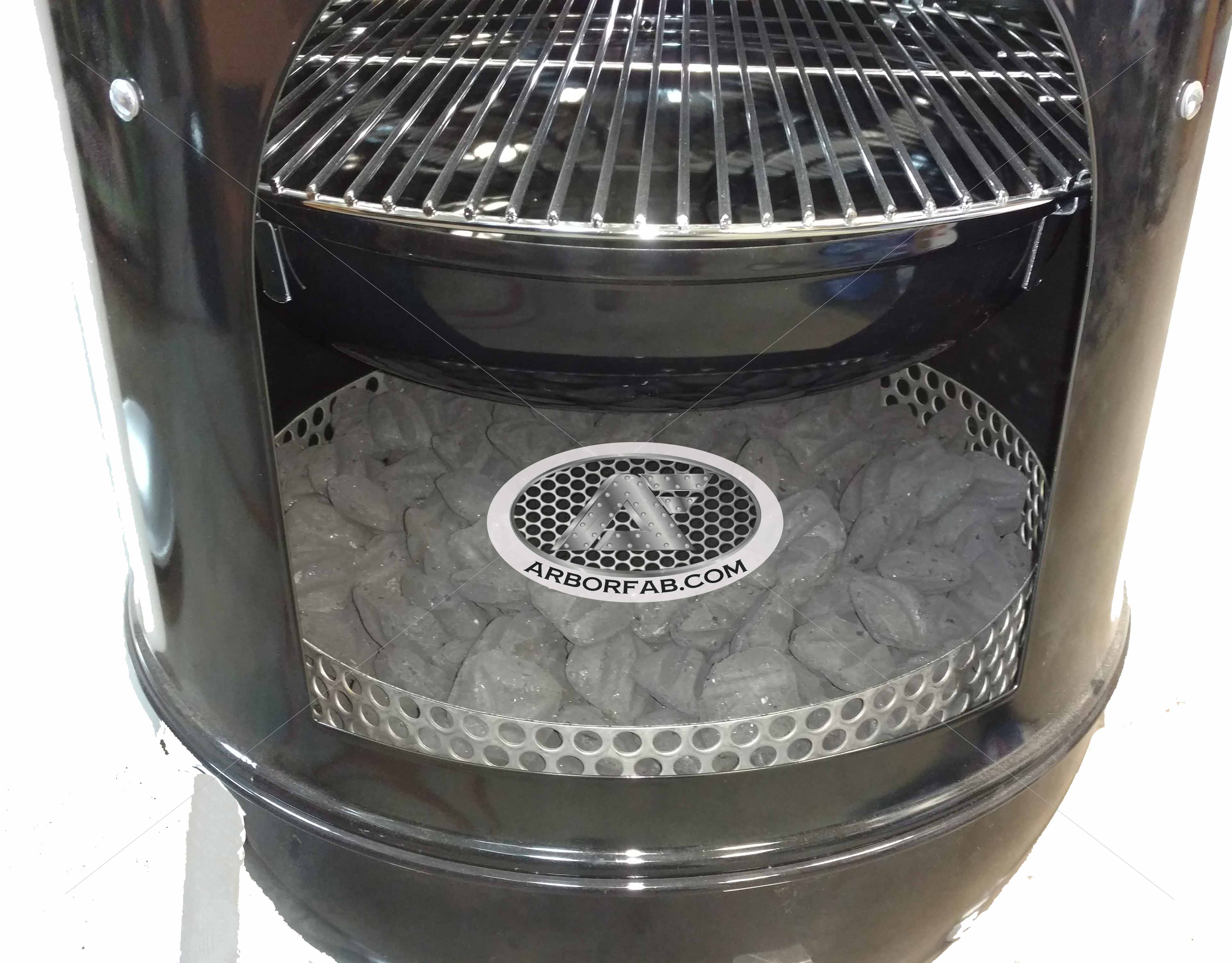 Weber Smoky Mountain >> Charcoal Assembly For Weber Smokey Mountain Grill 14