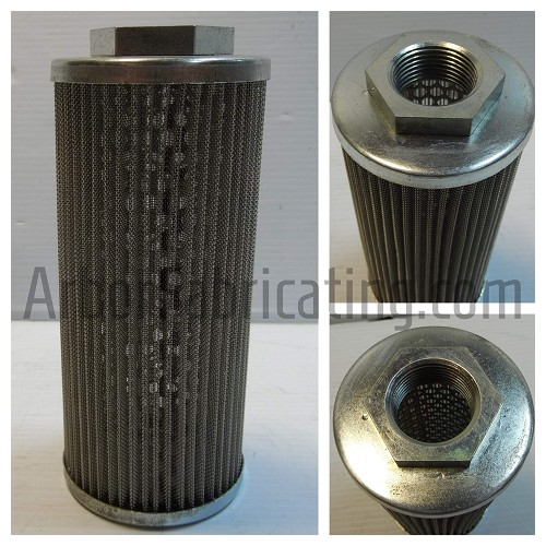 "3"" X 7"" Suction Filter 1"" Fitting 600 micron"