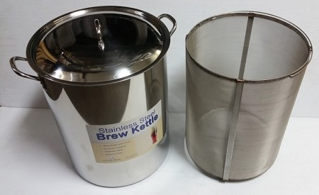 64 qt Ultimate Brew in a Basket Kettle Combo for Cold Brewed Coffee