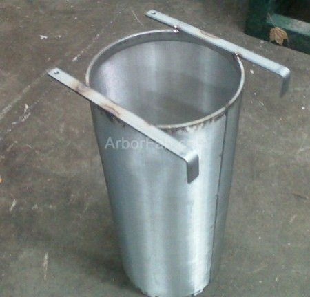 "6"" x 14"" Center Hanging Brew Filter 300 Micron For Keggles"