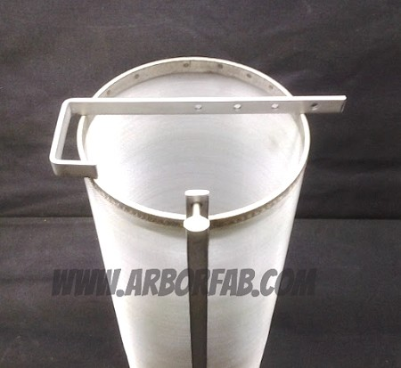 "6"" x 14"" Adjustable Hook Brew Filter 300 Micron For Keggles"