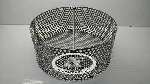 "Charcoal Assembly (Ring, Grate & Handle) for Weber Smokey Mountain Grill 22.5""  WSM"